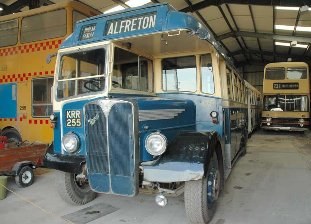 Midland General Bus at Road Transport Museum