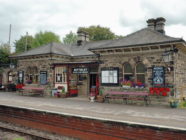 Butterley Station - Platform Side - as seen today