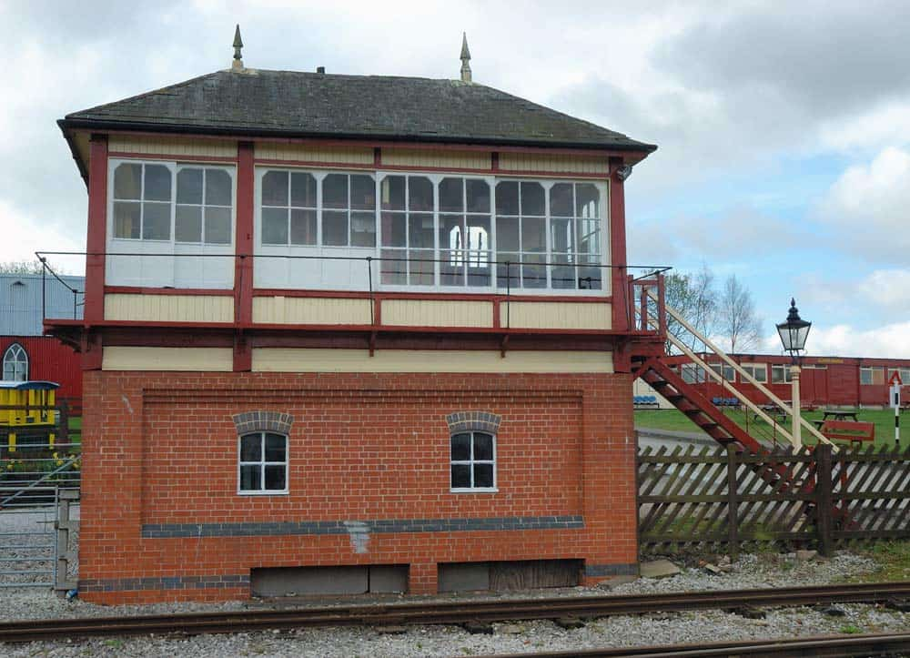 Swanwick Junction Demonstration Signal Box