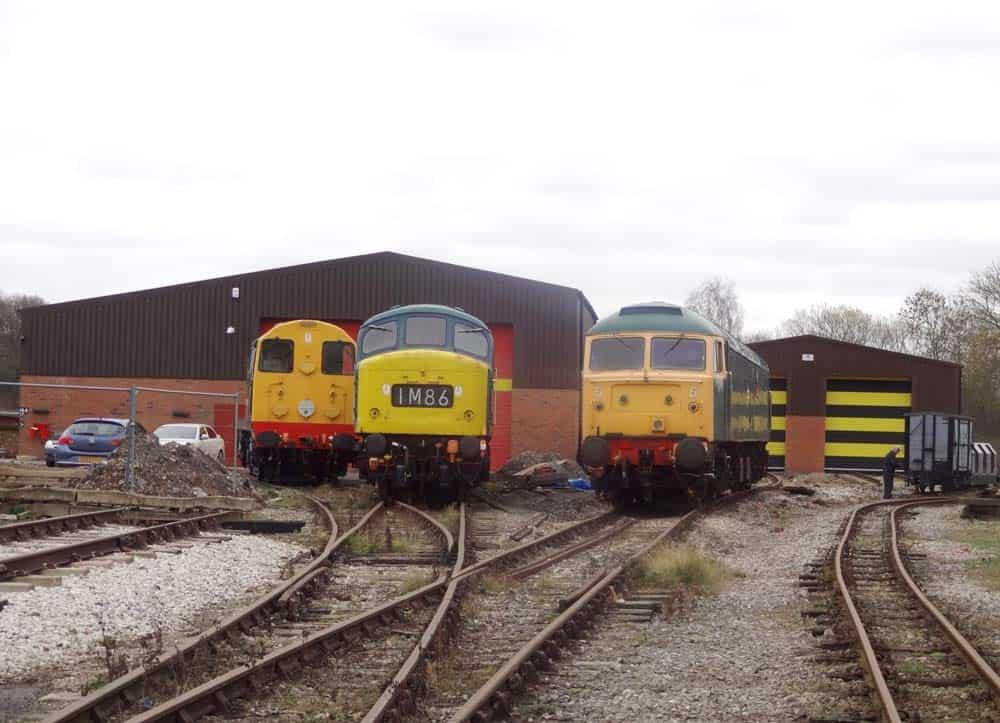 Swanwick Diesel Depot